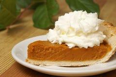 Fresh Pumpkin Pie Royalty Free Stock Image