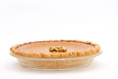 Fresh Pumpkin Pie Royalty Free Stock Photography