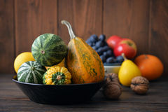 Fresh pumpkins Royalty Free Stock Image