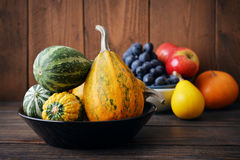 Fresh pumpkins Stock Images