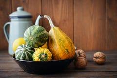 Fresh pumpkins Stock Photography
