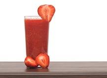 Fresh pureed strawberry Royalty Free Stock Photo