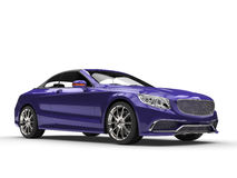 Fresh purple business car. 3D Illustration Royalty Free Stock Photography