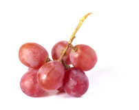 Fresh purple grape Royalty Free Stock Image