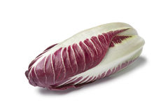 Fresh Radicchio rosso. On white background Stock Photo