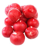 Radish in white Stock Images