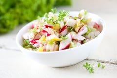 Fresh radish salad Royalty Free Stock Image