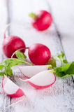 Fresh Radishes closeup Royalty Free Stock Photo