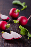 Fresh Radishes closeup Royalty Free Stock Photography