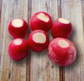 Fresh radishes Stock Images