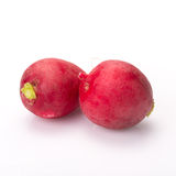 Fresh radishes on white background.  Stock Photography
