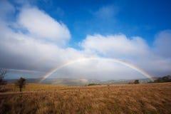 Fresh Rainbow in Prairie Royalty Free Stock Photo