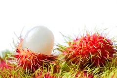 Fresh rambutan fruit. Fresh rambutan sweet delicious fruit Royalty Free Stock Image