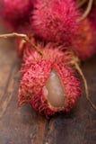 Fresh rambutan fruits Royalty Free Stock Images