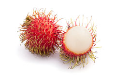 Fresh rambutan Royalty Free Stock Photography