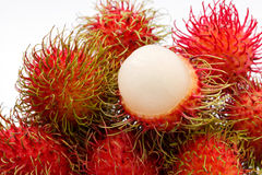 Fresh rambutan Stock Photo