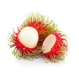 Fresh rambutan sweet delicious fruit of Thailand.  Stock Photo