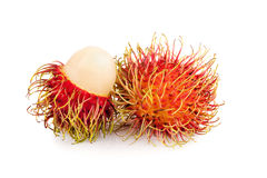 Fresh rambutan sweet delicious fruit of Thailand.  Royalty Free Stock Images
