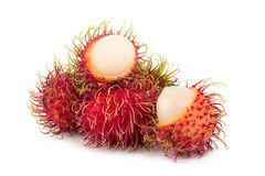 Fresh rambutan sweet delicious fruit of Thailand.  Stock Photography