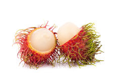Fresh rambutan sweet delicious fruit of Thailand.  Stock Image