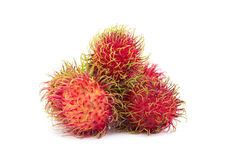 Fresh rambutan sweet delicious fruit of Thailand.  Royalty Free Stock Photography