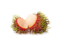 Fresh rambutan sweet delicious fruit of Thailand.  Stock Images