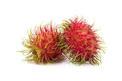 Fresh rambutan sweet delicious fruit of Thailand.  Stock Photos