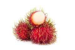 Fresh rambutan sweet delicious fruit of Thailand.  Royalty Free Stock Image