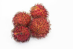 Fresh rambutan. Sweet delicious fruit of Thailand Stock Photography