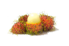 Fresh rambutan sweet. Of Thailand Royalty Free Stock Photo