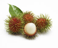Fresh rambutan Royalty Free Stock Photos