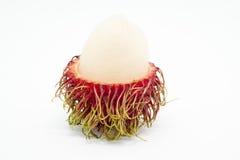 Fresh rambutan, tropical fruit.  Royalty Free Stock Image
