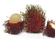 Fresh Rambutans Stock Images