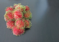 Fresh rambutans. Is fruit for healthy Stock Image