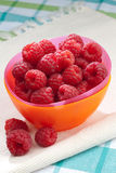 Fresh raspberries Royalty Free Stock Photography