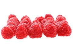 Fresh raspberries background. Fresh red raspberries as nice fruit background Stock Photography