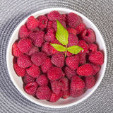 Fresh raspberries Royalty Free Stock Photo