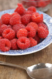Fresh raspberries Royalty Free Stock Image