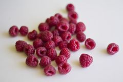 Fresh raspberry stock images