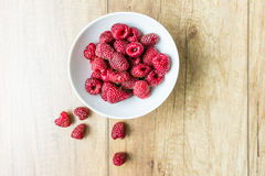 Fresh Raspberry Fruits Royalty Free Stock Photos
