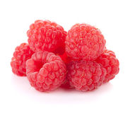 Fresh raspberry heap Royalty Free Stock Images
