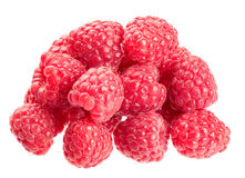 Fresh Raspberry. Isolated on white background Royalty Free Stock Photography
