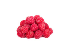 Fresh raspberry isolated on white Stock Photography