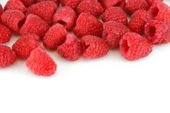 Fresh raspberry isolated on white background Stock Photography