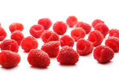 Fresh raspberry Royalty Free Stock Images