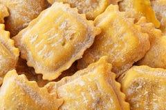 Fresh ravioli Stock Images