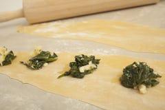 Fresh Ravioli Pasta Royalty Free Stock Images