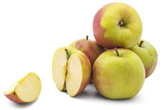 Fresh raw apples Stock Photography
