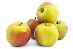 Fresh raw apples Royalty Free Stock Photo