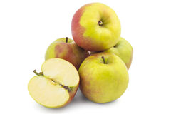 Fresh raw apples Royalty Free Stock Images